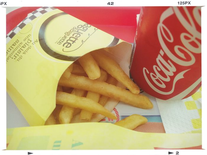 Fries French Fries Hot Fries Coca Cola ???????