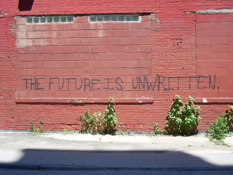 Truth. Brick Wall Day Depth Of Field Focus On Background Graffiti No People Selective Focus Text Wall Wall - Building Feature