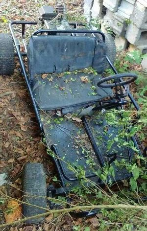 The Drive Outdoors No People Day Nature Plant Overgrown Gocart Gokart Go Kart Go Carting Childhood Fun Adventure Fast Race Motor Steering Wheel Childhood Memories Toy Gas