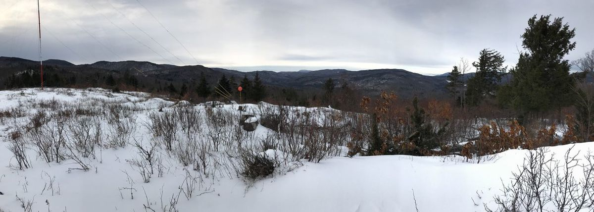 Snow ❄ New Hampshire Mountain Winter Sky IPhoneography