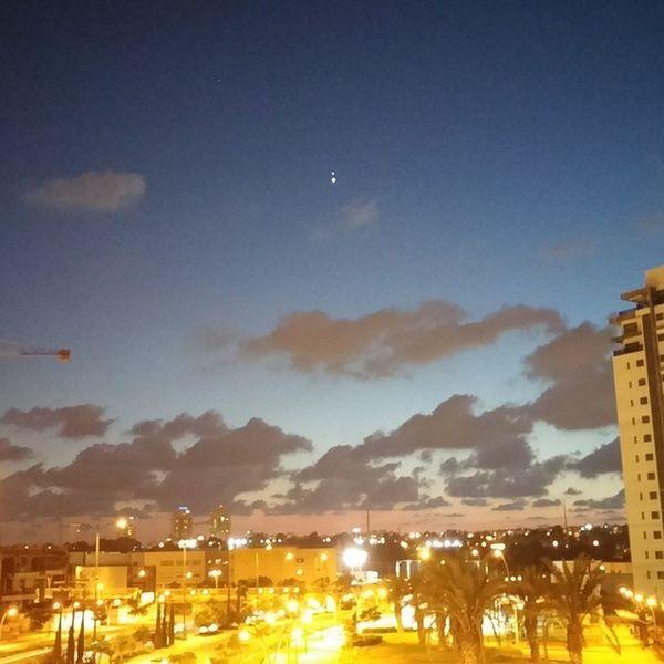 мойгород небо вечерсхорошимчеловеком Skyview citylife rishonlezion