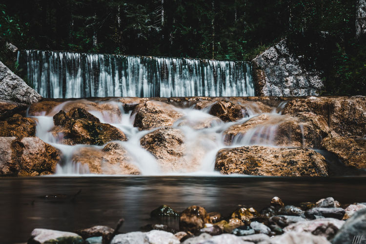Water Long Exposure Rock Waterfall Flowing Water Motion Solid Rock - Object Scenics - Nature Nature Blurred Motion Tree No People Beauty In Nature Day Forest Flowing Plant Outdoors Power In Nature Falling Water Purity