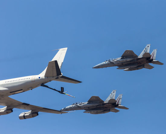 707 Air Force Aviation Aviationphotography Blue Boeing Clear Sky Day Jets McDonnell Douglas F-15 Eagle Military Outdoors Refueling Sky