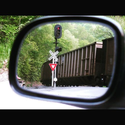 Bsm_shots Objectsinmirrorarecloserthantheyappear Rsa_country CSX coalcountry train railroad rsa_theyards bestsidemirror_shots traintracks locomotive jj_unitedstates ipulledoverforthis icu_usa rural_love ig_addicts_fresh backroads trb_country igers_of_wv wv_igers wv_nature westvirginia gotowv