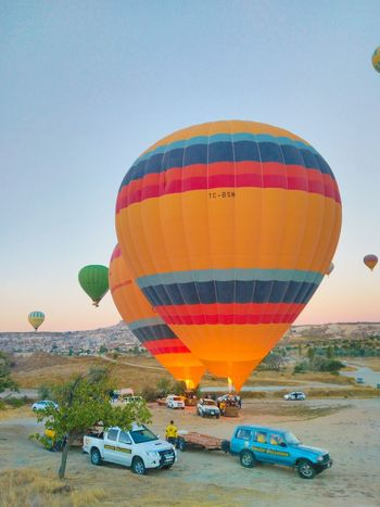 Kapadokya Hot Air Balloon Transportation Mode Of Transport Ballooning Festival Flying Air Vehicle Travel Balloon