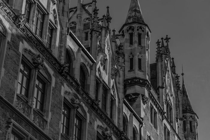 Architecture Building Exterior Built Structure Germany Gothic Gotico Munich, Germany No People