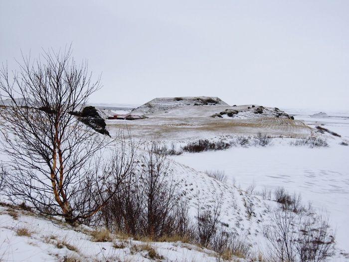 Landscape Winter Iceland
