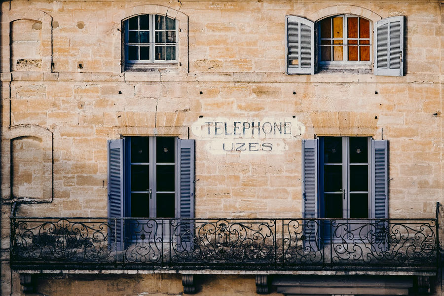 Telephone exchange in Uzses France Telephone Telephone Exchange Communication Telecom Telecommunications Phone Call Communications Provence France France Streets