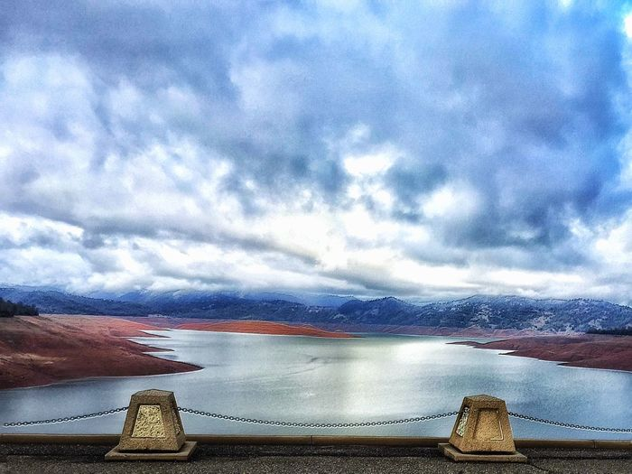 Lake Oroville from Oroville Dam Showcase: January