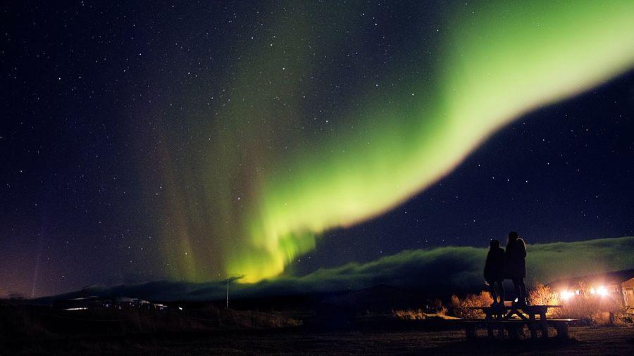 The Aurora Night Sky Star - Space Aurora Polaris