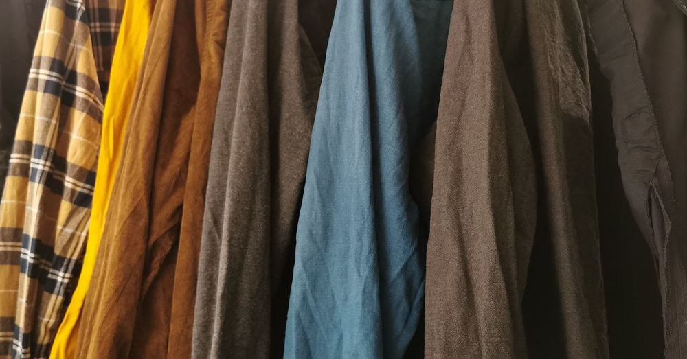 Shirts drying