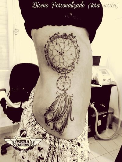 Tattoo Ink Art Bodyart Tattoos Inkedgirls Dreamcatcher Inkedsexy First Eyeem Photo