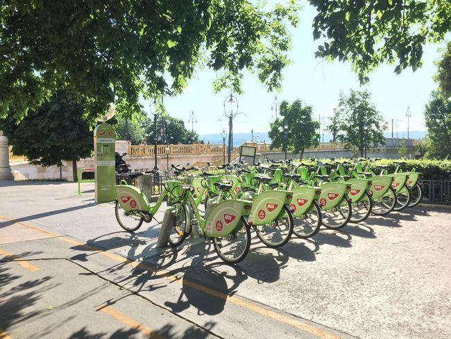 BKK Bubi Budapest Bicycle Jászai Mari Tér Kerékpár Közbringa MOL Bubi Tourism Budapest