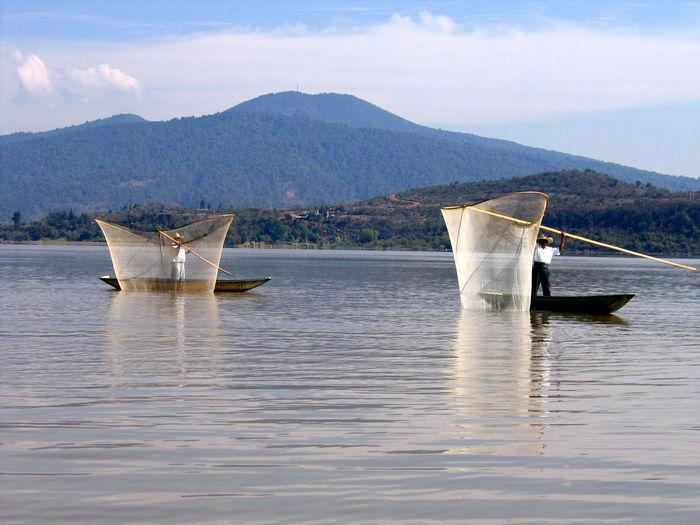 Boat Fish Nets