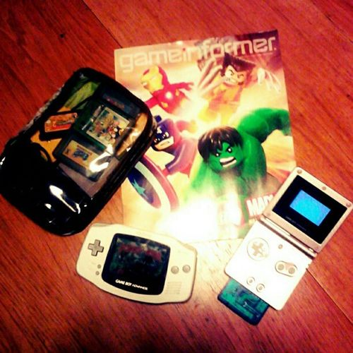 These are a few of my favorite things. Nintendolife Gameboyadvance Vintage Gameinformer Retro Wtfgo Nintendo Gameboyadvancesp Avengers Captianamerica Hulk Ninstagram Ironman Snapplay Marvel Hardcore_gamer_girls Gamer Nintendocartriges Gameboy Cartridges Wolverine Nintendocartrige Igersnintendo Retrogamimg Handheld Marvelcomics Wtfgamersonly