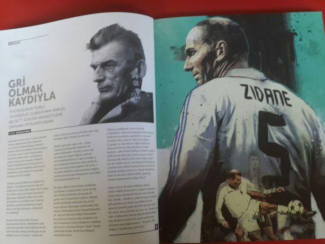 Samuel Beckett Zinedinezidane Literature Football Soccer Magazine Sócrates