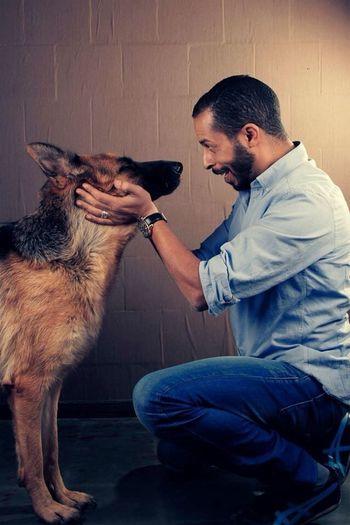 Dog Love Photoshoot Selfportrait