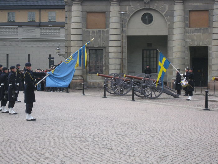 Cannon Ceremony Changing Of The Guards Changover Group Of People Lifestyles Military Military Ceremony Stockholm