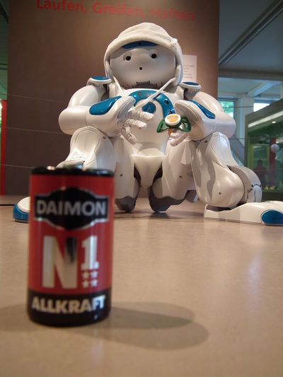 Game over Batterie Figurine  Human Representation Indoors  No People Roboter Still Life Table Technoseum White Color