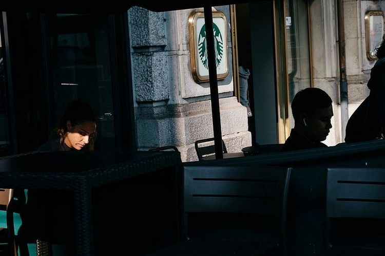 The Street Photographer - 2018 EyeEm Awards Window Curtain #urbanana: The Urban Playground