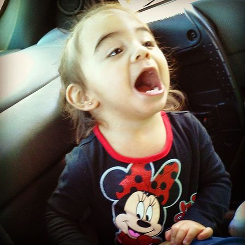 The older she gets the more rascal she gets! Littlerascal Mentalgurl Goofball Lateupload mybabyy