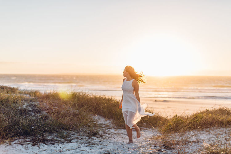 Beach Walk Cape Town Dreaming Freedom Fun Happy Quality Time South Africa Travel Wanderlust Woman Barefoot Beach Beauty In Nature Best Friends Friendship Girls Goldenhour Outdoors Roadtrip Sand Sea Sunset Windy Women