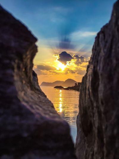 Sunset Hanging