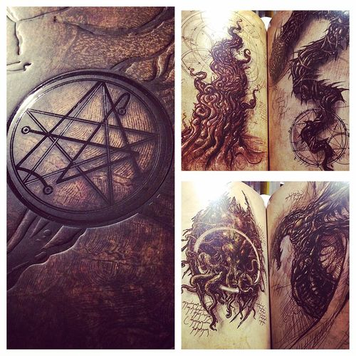 Necronomicon. Litterature H.P. Lovecraft Necronomicon Books Art, Drawing, Creativity