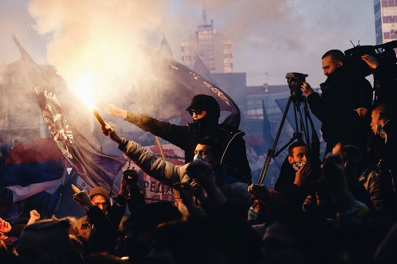 Radical protest Adult Crowd Large Group Of People Men Outdoors People Protest Radical Real People Riot The Photojournalist - 2017 EyeEm Awards Togetherness Torch Focus On The Story #FREIHEITBERLIN The Photojournalist - 2018 EyeEm Awards The Troublemakers