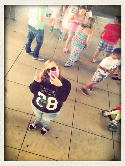In chicago baby, chillin under the bean! #tbt ?✌️ Chillin In The Chi Thebean Selfie ;) Summerinthecity