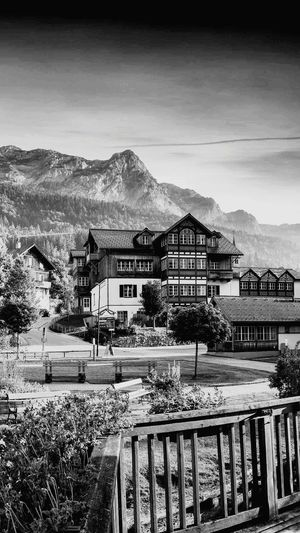 Mountain House Built Structure Building Exterior Outdoors Architecture Mountain Range first eyeem photo