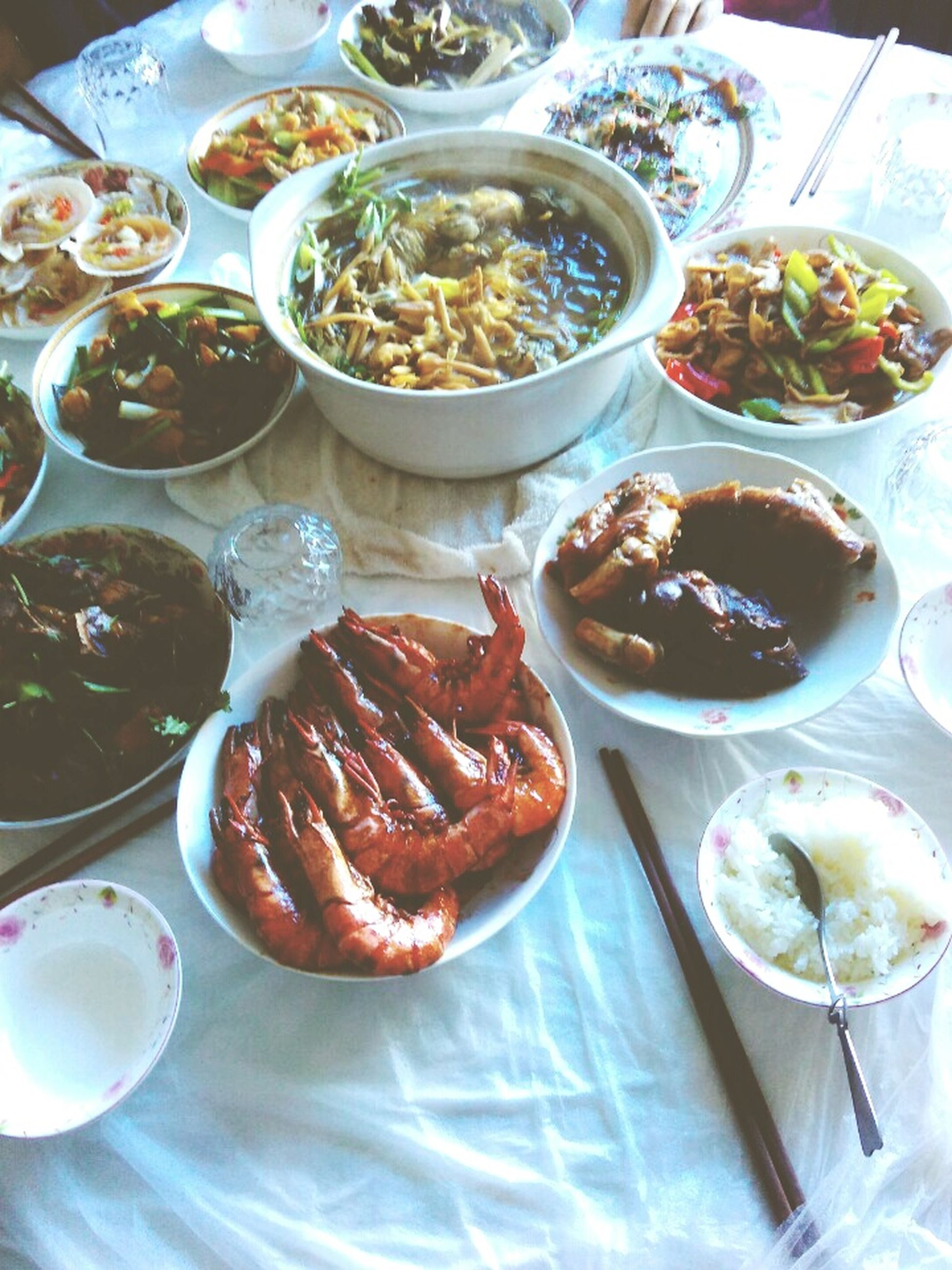 food, high angle view, meat, bowl, food and drink, table, no people, indoors, plate, healthy eating, ready-to-eat, day, breakfast, freshness, close-up