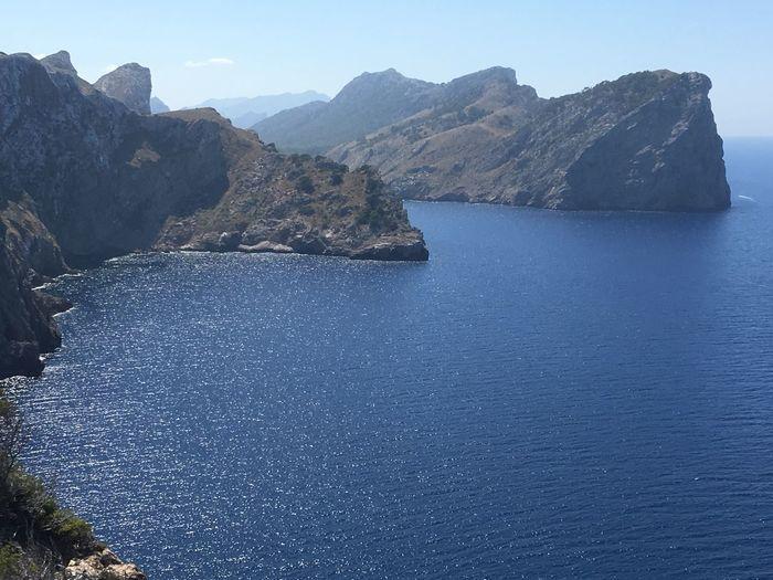 Cap Formentor Sea And Sky Cliffs Pollença Majorca Sea And Rocks