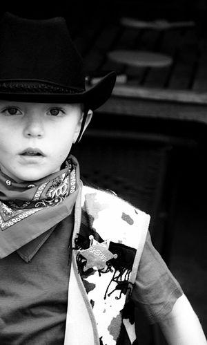 Youth Of Today Cowboy Boy Children Child Childhood Black And White Children's Portraits Black & White Emotions Children Photography Portrait Robyn Haworth