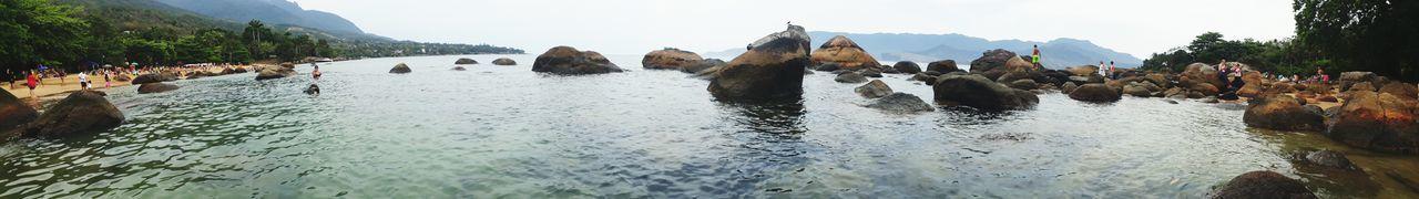 Felicidade Mar Paz Verão Ilhabela - Brasil Natureza🍁 Paraíso Pedras Tranquility