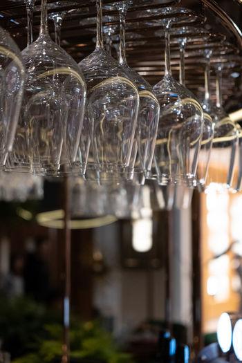 Close-up of wine glass