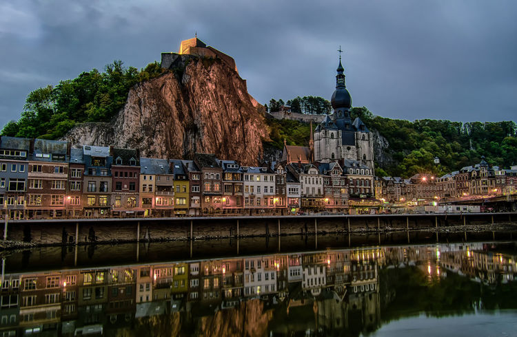 Some of the best things in life a pier when you least expect them. Dinant Belgium Illuminated Architecture No People Outdoors Cityscape Night Lights Long Exposure Reflection Moody Sky Europe Night Photoraphy Belgium Landscape Waterfront Town TOWNSCAPE Europe Trip Travel Destinations Travelling Night Dinant Fall Beauty Autumn Reflections