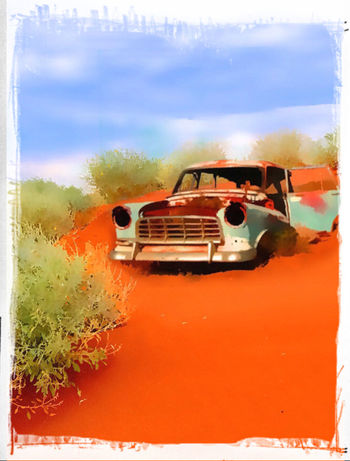 Photographic Approximation... Australiana In Rust, We Trust