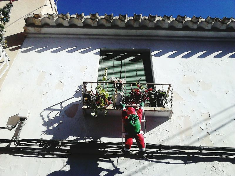Santa Claus Christmastime Christmas Around The World Balcony Spanishlife Murciamagazine Murcia Provincia Navidad 2016 Christmas In Spain Xmas Time Xperiaphotography Santa Clauss Is Coming To Town SPAIN House