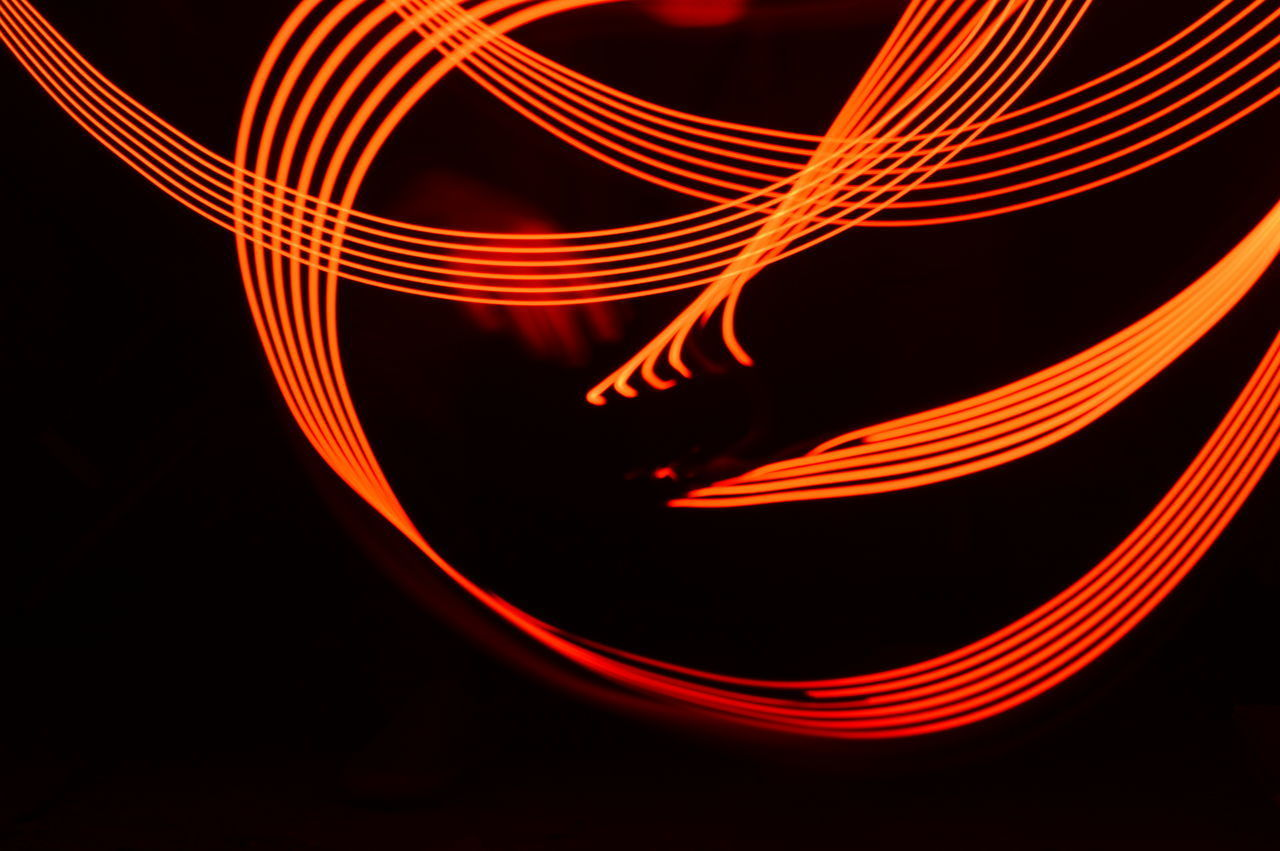 ABSTRACT IMAGE OF LIGHT PAINTING