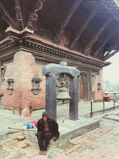 Old Man Real People Awakening Bells Of Worship Tranquility Spirituality Temple Of Shiva Place Of Worship Shrines And Temples Sculpture Travel Destinations For Art Lover Ancient Architecture City Of Temples Kathmandu, Nepal