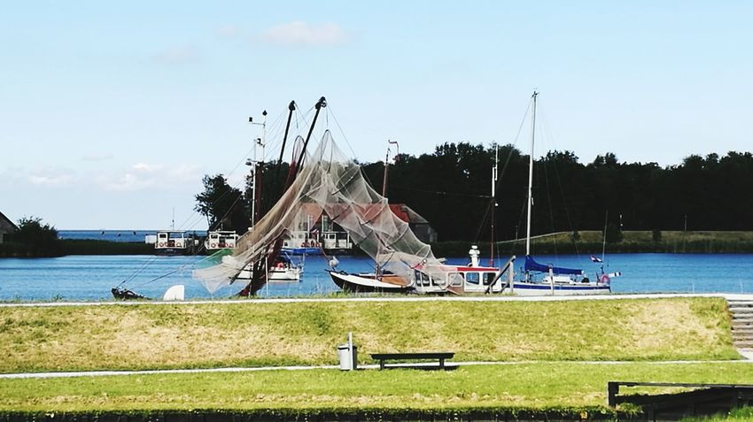 Sea Water Day No People Outdoors Tranquility Nautical Vessel Nature Holland Boat Fishernet