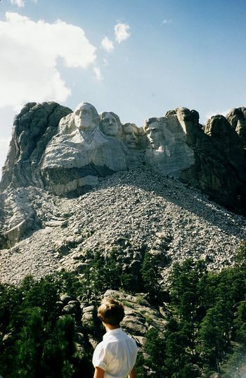 Vintage Adult Adults Only America Beauty In Nature Cloud - Sky Day Face Grandparents Men Mountain Nature Old Fashioned One Man Only One Person Only Men Outdoors People President Real People Rushmore Sky Sunlight Tavel USA Vintage Miles Away EyeEmNewHere