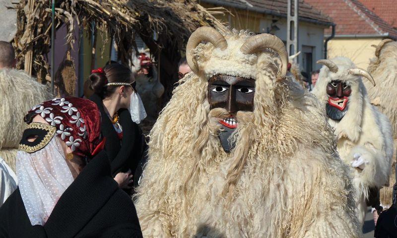 Busó festival Mohács Mohács Busó Hungary