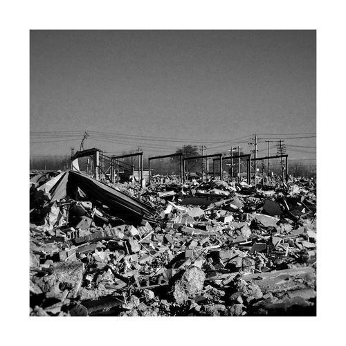 Garbage Abandoned Obsolete No People Damaged Clear Sky Day