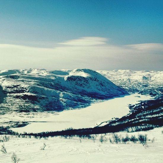 Skiing in Hovden , Norway
