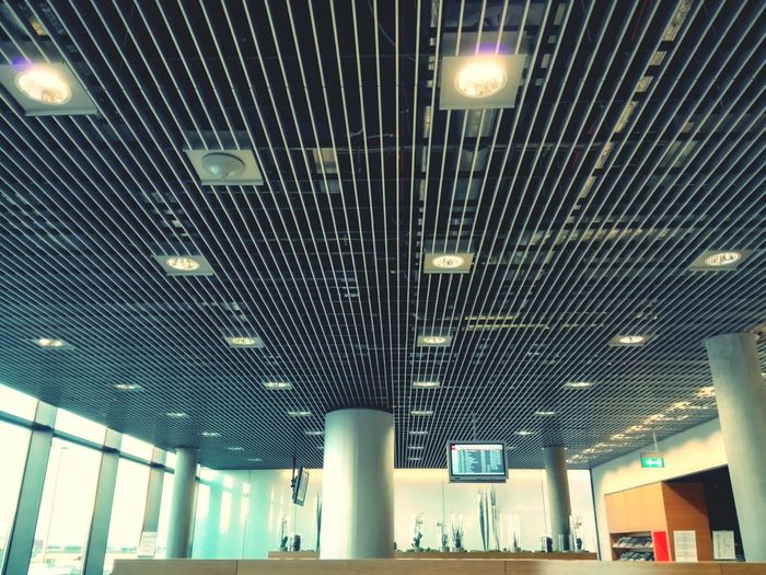 Hanging Out Lounge Relaxing Travel Destinations Findel Airport Luxair
