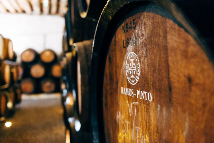 Alcohol Barrel