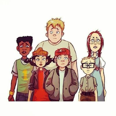Who remember these niggas ? Childhood Sqaud