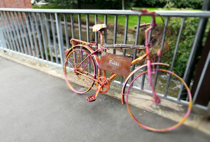Fulda Fulda/Hessen Hann. Münden Hannoversch Münden Bicycle Day Mode Of Transport No People Outdoors Stationary Transportation Wheel